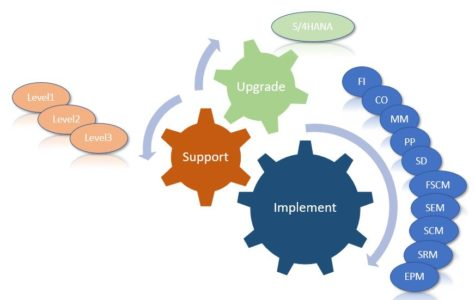 Web Page SAP Modules